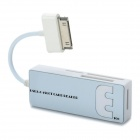 Multi-Card Reader for Samsung Gaxalxy Tab P7500 / P7510 / P7300 + More - White + Silver (Max. 16GB)