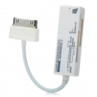 Multi-Card Reader for Samsung Gaxalxy Tab P7500 / P7510 / P7300 + More - White (Max. 16GB)