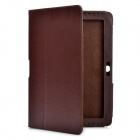 Protective PU Leather Case for Samsung Galaxy Tab 2 P5100 - Brown