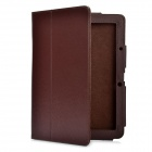 Protective PU Leather Case for Acer Iconia Tab A5 10 - Brown