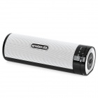 SINGBOX T3 Rechargeable Bluetooth V2.1 3W Speaker - White + black
