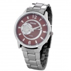 Women's Fashion Quartz Wrist Watch - Brown + Silver (1 x LR626)