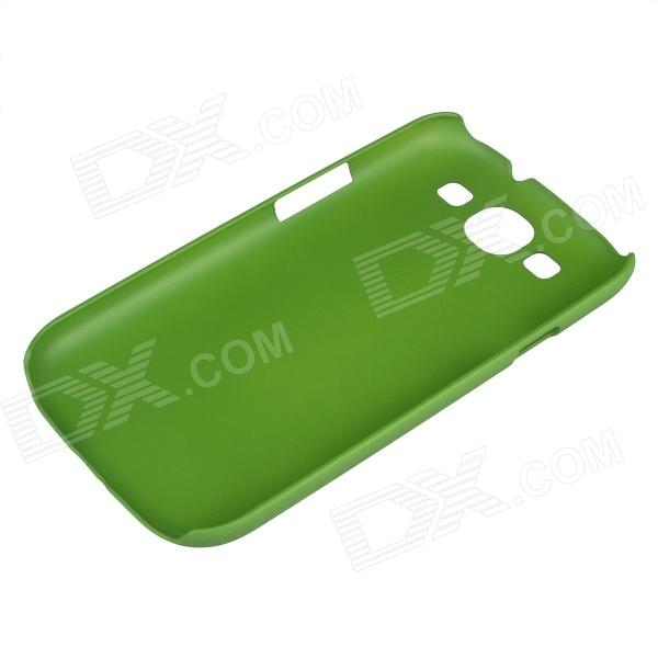 Protective Matte ABS Plastic Case for Samsung Galaxy S3 i9300 - Green - DXPlastic Cases<br>Material ABS Color Green Qty 1 Compatible Model Samsung Galaxy S3 i9300 Features Protects your device from scratches shock and dust Packing List 1 x Case<br>