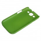 Protective Matte ABS Plastic Case for Samsung Galaxy S3 i9300 - Green