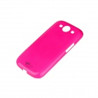 Protective ABS Plastic Case for Samsung Galaxy S3 i9300 - Deep Pink