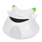 iDragon Mini USB Powered 5W Desktop Speaker - White (3.5mm-Jack)
