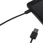 Micro USB Data & Charging Cable for Xiaomi M1 - Black (104cm)