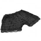 2-in-1 Fashion Lace Cake Skirt / Short Pants - Black