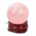 USB Pink Light Luminous Rock Crystal - Pink
