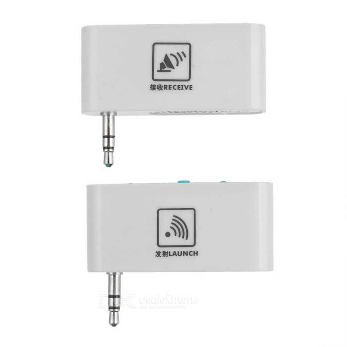 2.4GHz Audio Wireless Receiver Kit - White (3.5mm-Plug)