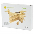 Woodcraft Construction Kit w/ Solar Board - Fighter