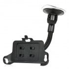 Car Suction Cup Mount Holder for HTC One V - Black