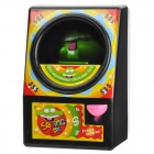 Creative Frog Coin Saving Bank Box - Black + Green