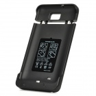 3500mAh External Mobile Power Battery Back Case for Samsung i9220 - Black