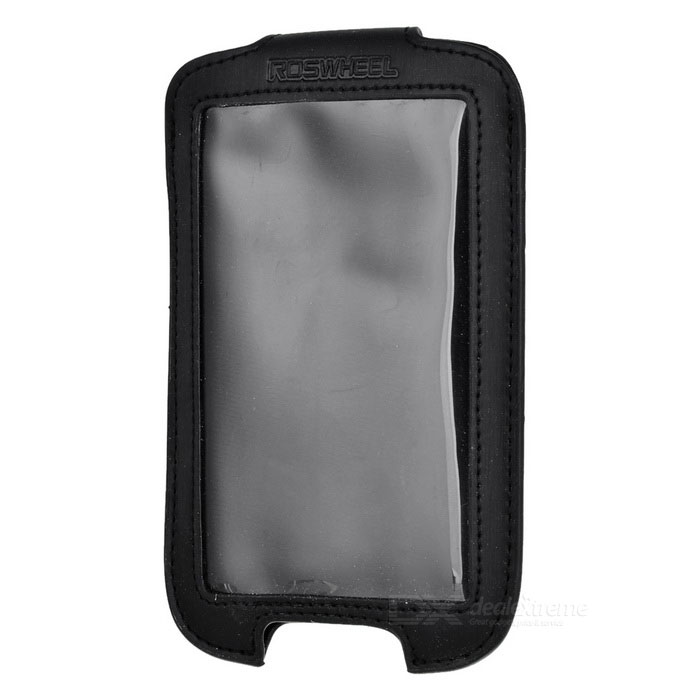 Bike Bicycle Quick Release Pouch for Iphone - Black
