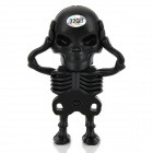 Creative Skeleton Style USB 2.0 Flash Drive - Black (32GB)