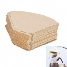 Enviromental Protection Paper Coffee Filters - Wooden (100-Piece)