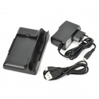 SEA Dual USB Data Sync/Battery Charger Dock Cradle w/ Power Adapter for Samsung Galaxy Note / i9220