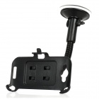 Car Suction Cup Mount Holder for HTC One S / Z520E - Black