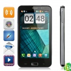 "X3 Android 2.3 WCDMA 3G Phone w/ 5.3"" Capacitive, GPS, Wi-Fi and Dual-SIM - Black"