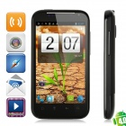 "FG21 Android 4.0 WCDMA Smartphone w/ 4.3"" Capacitive, GPS, Wi-Fi and Dual-SIM - Black"