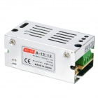 12V 1A Power Supply Transformer for Direct Current Bulb - Silver (AC 100~220V)