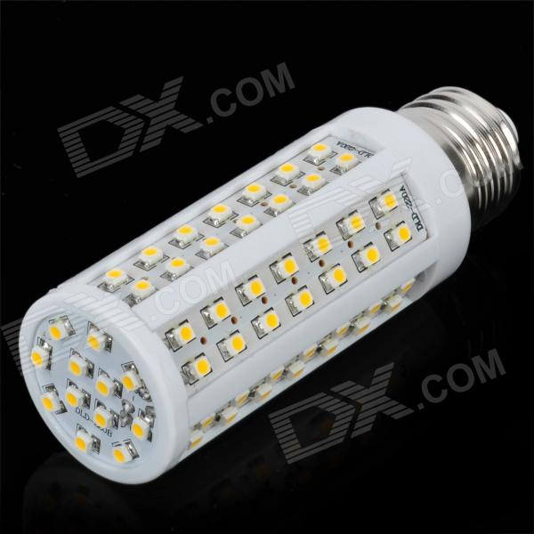E27 6.5W 576LM 3500K Warm White Light 96-LED Corn Bulb (AC 220~240V)