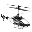 Rechargeable 3-CH Move Motion IR R/C Helicopter w/ Gyroscope - Black + Silver