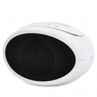 Stylish Docking Station Music Speaker MP3 Player with FM for iPhone 4 / 4S - White