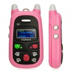 "KONKA A88 GSM Cellphone for Kids w/ 1.0"" LCD Screen, Quad-Band and Single-SIM - Pink"