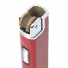 Strip Shaped Stainless Steel Butane Lighter - Red