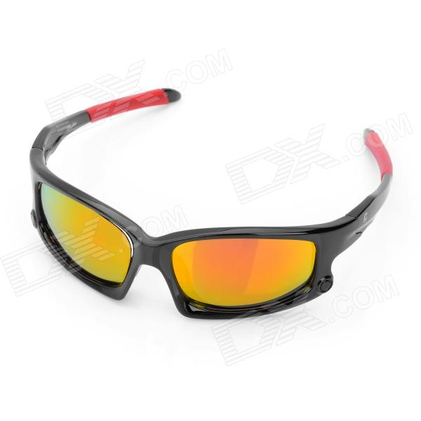 OREKA UV400 Protection Fashion Red REVO Resin Lens Polarized Sunglasses - Black + Red кабелерез santool для цветных металлов 250 мм 031156 001