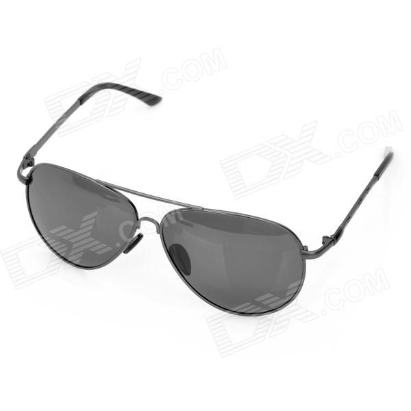 Classic UV400 Protection Sunglasses (Silver Frame)