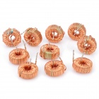 Wired Magnetic Ring Power Inductor - Orange (10-Piece Pack)