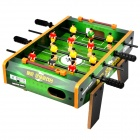 Mini Wood Table Soccer Game Toy