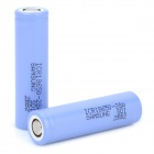 Genuine Samsung 2800mAh 4.3V 18650 Rechargeable Lithium Battery - Purple (2-pack)