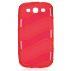 Protective TPU Case for Samsung Galaxy S3 i9300 - Red