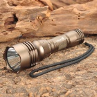 UltraFire WK-19 Cree XR-E Q5 180LM 5-Mode White Diving Flashlight - Brown (1 x 18650)
