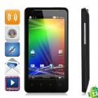 "G19 Android 2.3 WCDMA 3G Smartphone w/ 4.3"" Capacitive, GPS, Wi-Fi and Dual-SIM - Black"