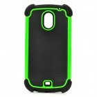 Protective Plastic + PC Case for Samsung i9250 - Green + Black