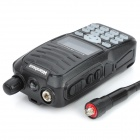 "Wanhua WH-558 1,5"" LCD 5W 136 ~ 174MHz / 400 ~ 470MHz Dual Band multifunktionella Walkie Talkie - svart"