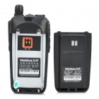 "Wanhua WH-558 1.5 ""LCD 5W 136 ~ 174MHz / 400 ~ 470MHz Dual Band Walkie Talkie Multifuncional - Black"