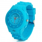 C5 GSM Wrist Watch Phone for Kids w/ Quad-Band, Bluetooth V2.0 and Single-SIM - Sky Blue