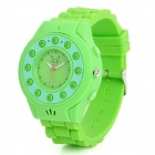 C5 GSM Wrist Watch Phone for Kids w/ Quad-Band, Bluetooth V2.0 and Single-SIM - Green