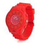 C5 GSM Wrist Watch Phone for Kids w/ Quad-Band, Bluetooth V2.0 and Single-SIM - Red