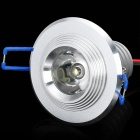 5W 1-LED 6500K 400Lumen White Light Deckenleuchte w / LED Driver - Silber (AV 110 ~ 240V)