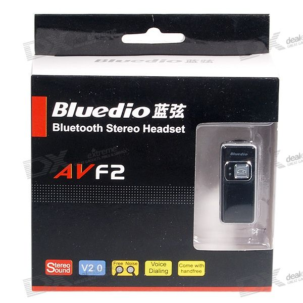 AVF2 Hybrid A2DP Stereo Bluetooth Wireless Headset (6-Hour Talk Time/100-Hour Standby)