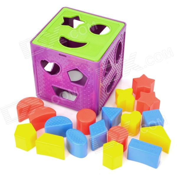 Educational 3D Hollow-out Cubic Box Filling Assembly Toy Set for Kids