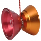 Aluminum Alloy 10-Ball KK Bearing YO-YO - Deep Pink + Orange