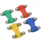 Mini Magnetic Toy Car with Metal Ball Wheels (4-Piece Pack)